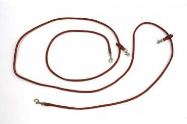 Schlaufzügel, Draw-Reins, Harness-Leder